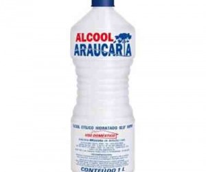 ALCOOL DO ARAUCARIA 92,8. INPM 1000 ML