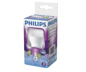 LAMPADA LED PHILIPS 6W QUENTE