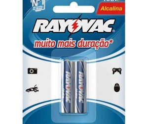 PILHA PALITO  FIAT LUX / RAY ALC.(AAA) C/2 UNIDADES